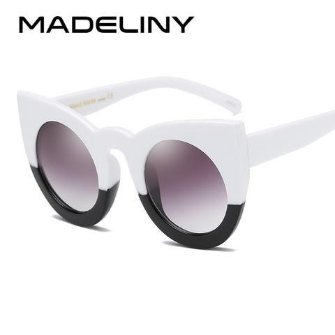 3e803308041 MADELINY New Cat Eye Sunglasses Women Brand Designer Fashion Vintage Round Sun  Glasses Luxury Glasses UV400 Cat Eye MA200
