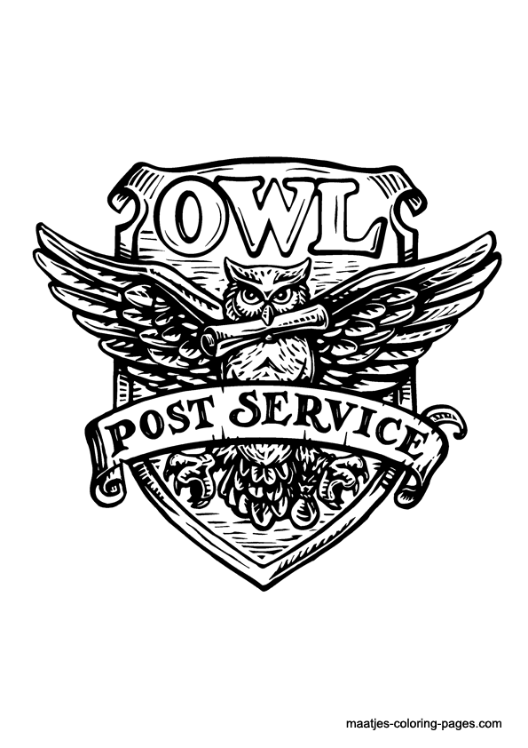 Owl Post Stamps For The Invitations
