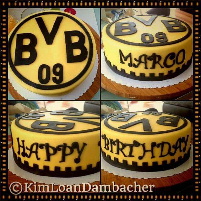 BVB Torte  Tortenbeispiele  Kuchen rezepte Bvb torte
