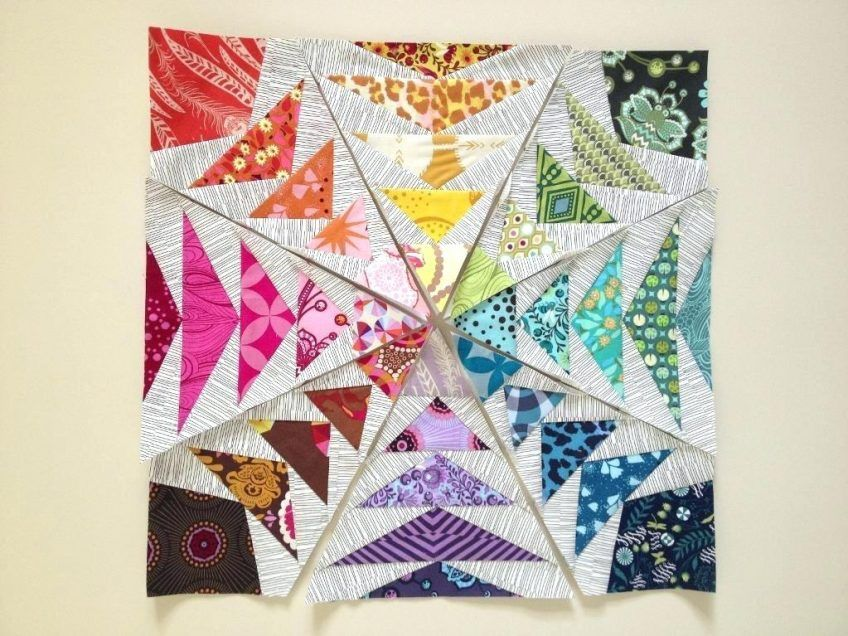 Rainbow Baby Quilt Tutorial Easy Rainbow Quilt Patterns ...