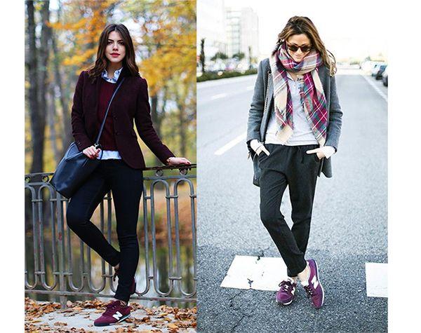 como vestir con new balance mujer