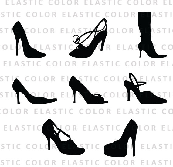 56a3f5f0d96 High heels svg - high heels clipart - shoes vector files clip art - heel  silhouette digital download