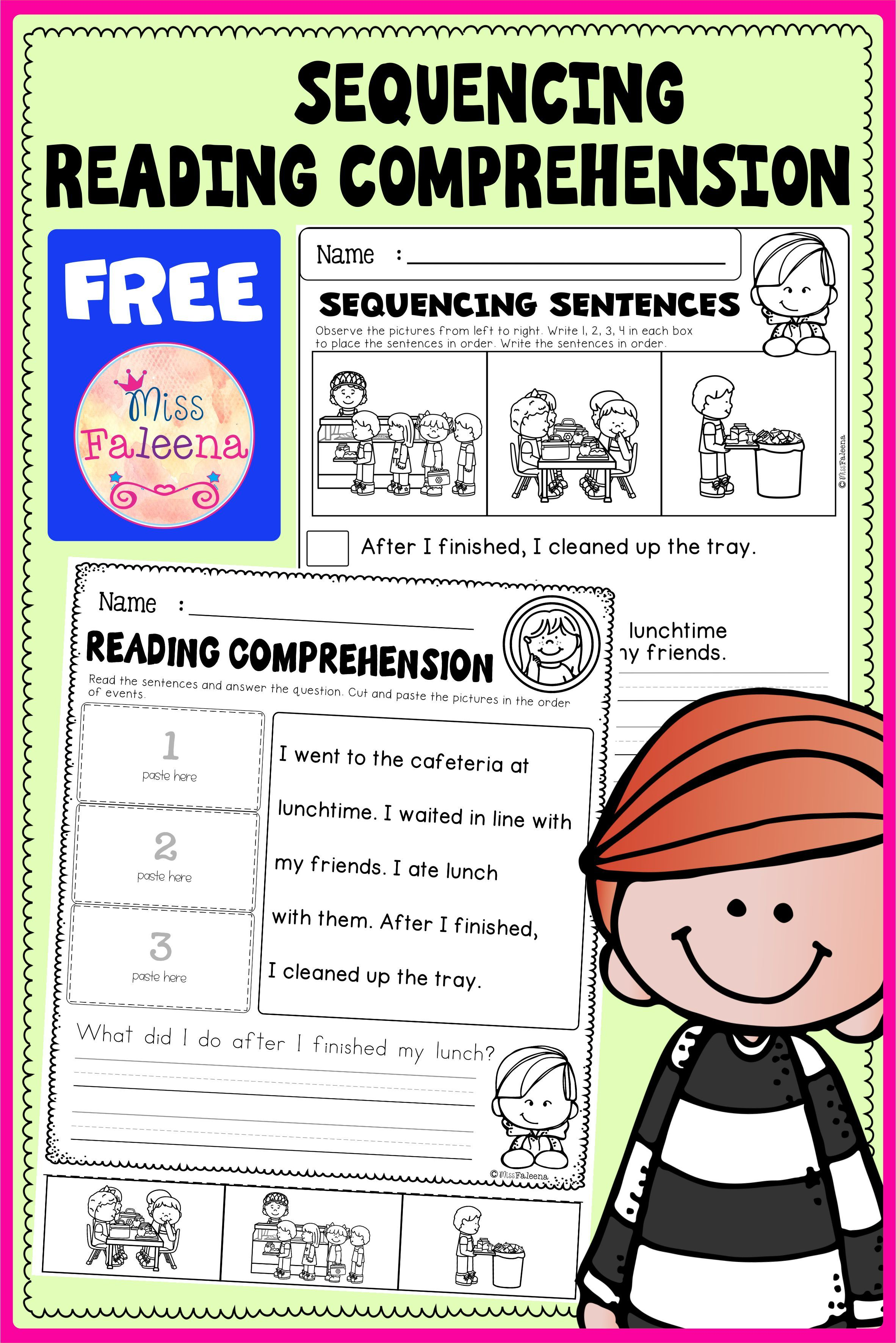 Free Sequencing Reading Comprehension In