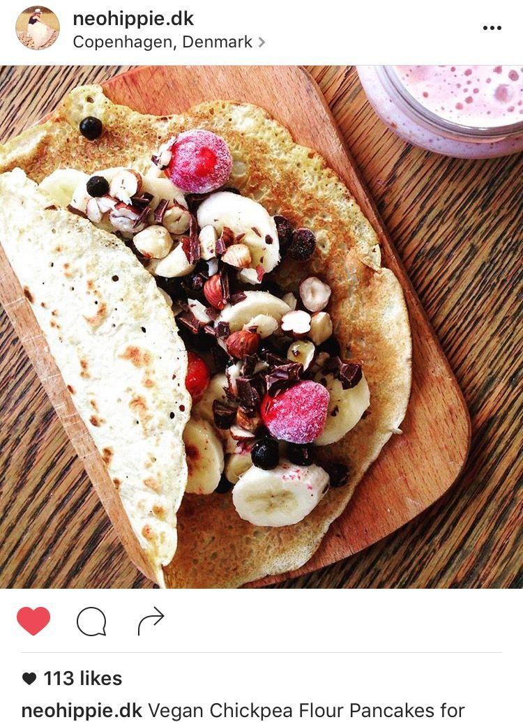 Vegan Chickpea-Pancakes for Breakfast