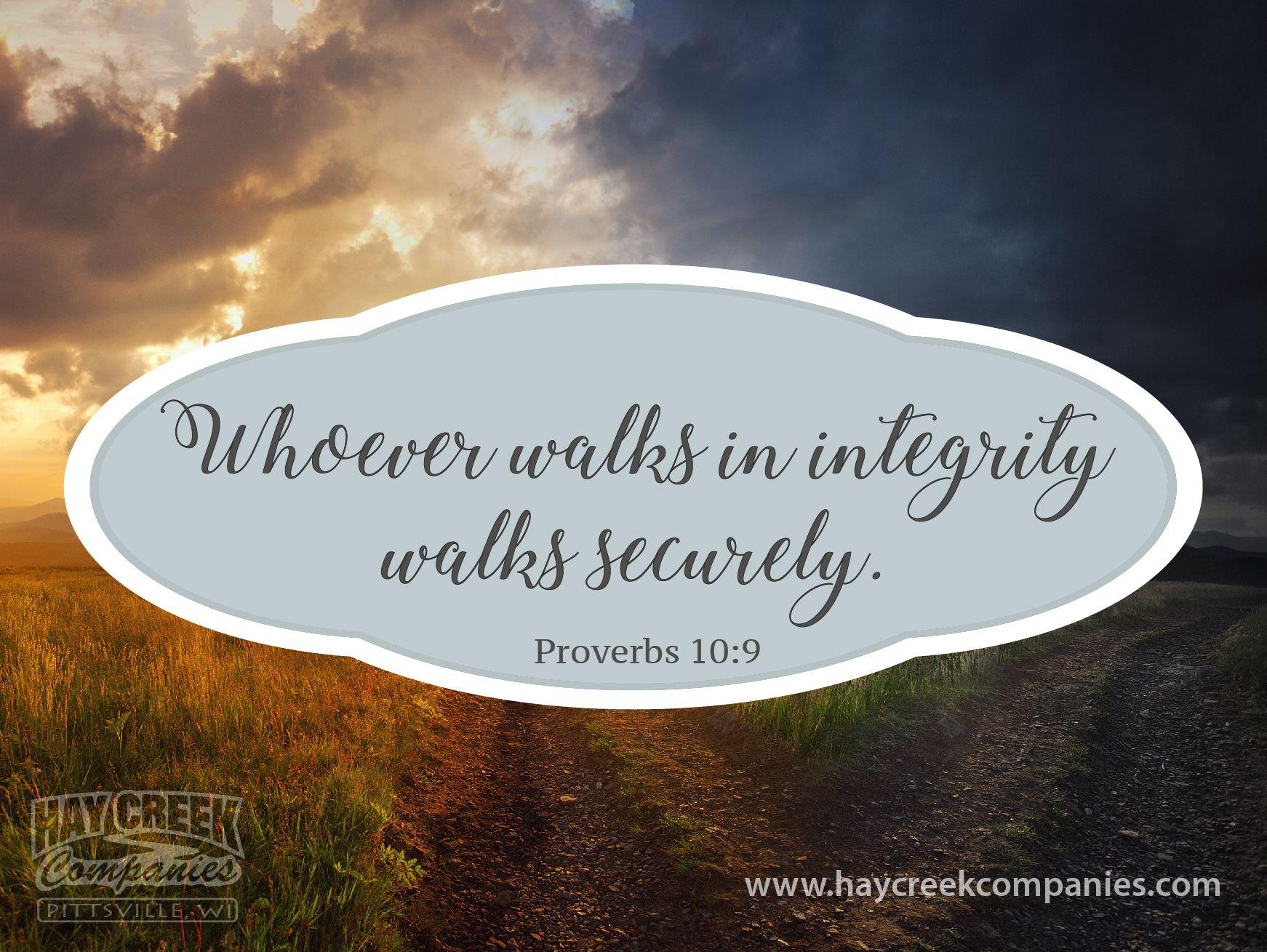Proverbs 10 9 Proverbs 10 Wood Pellets Proverbs