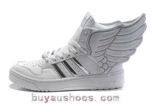 efaffc9e3d30 http   www.buyaushoes.com b735l-adidas-jeremy-scott-wings-20-white-silver-p-509.html  B735l Adidas Jeremy Scott Wings 2.0 White Silver