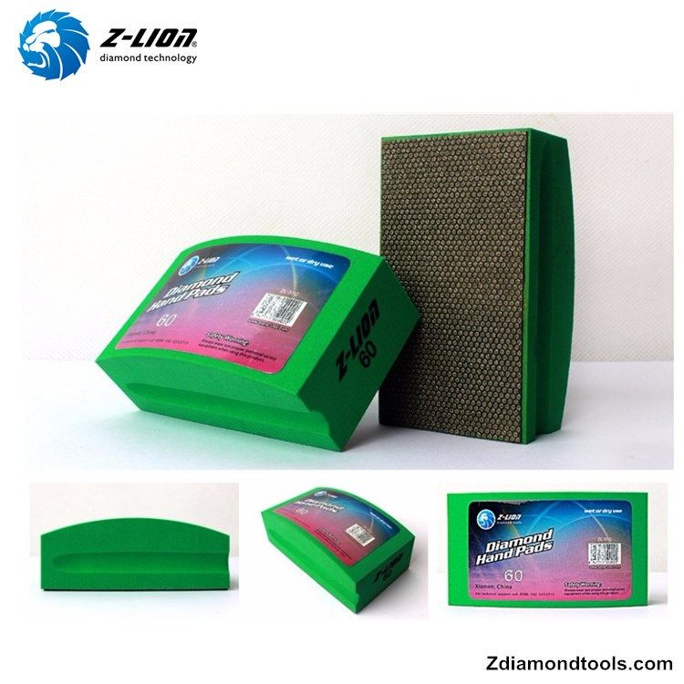 100mm 55mm Diamond Polishing Pads China For Glass Zl 37ca Glass Pad China