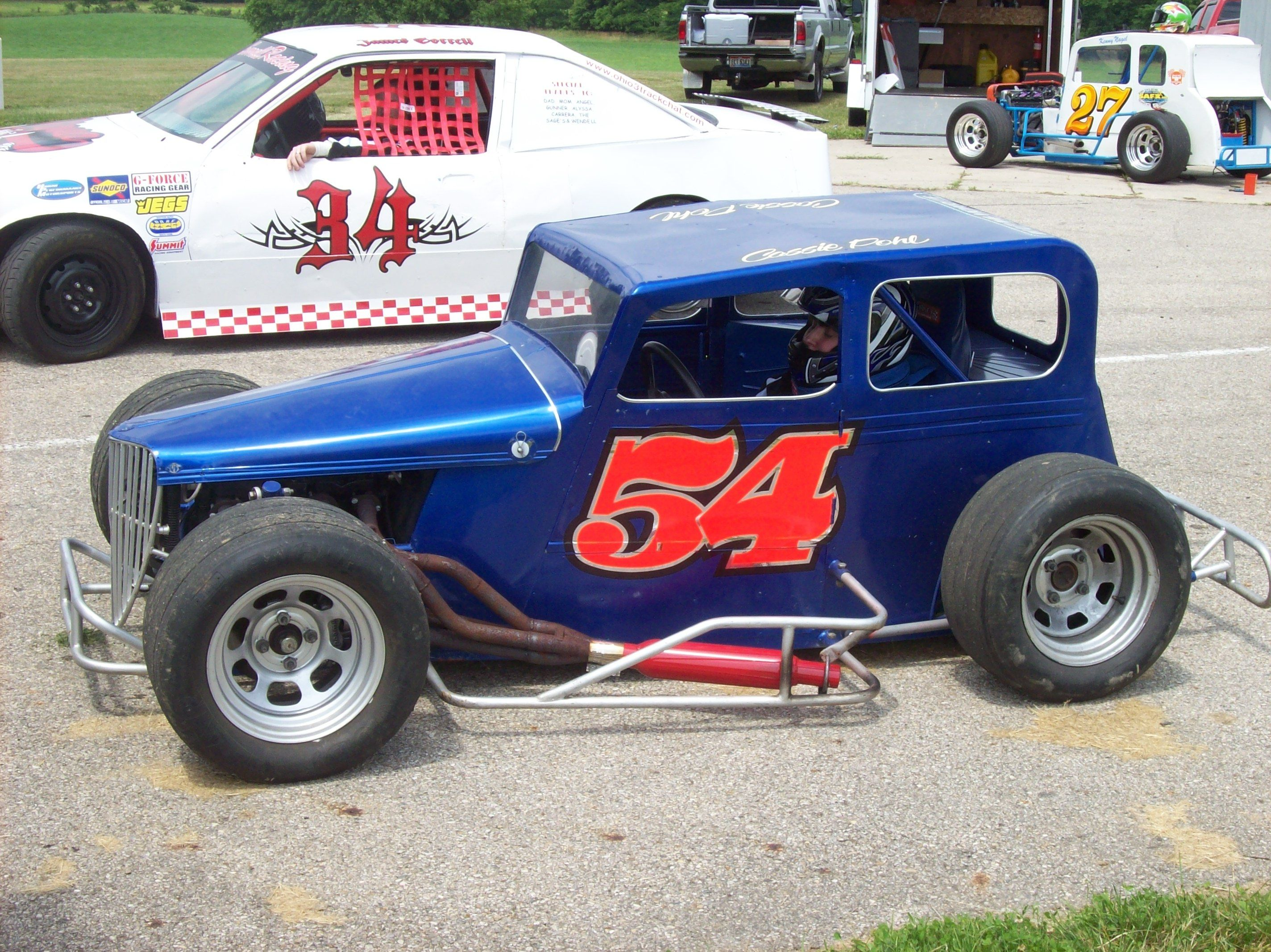 Dwarf Car At Shadybowl Speedway Ohio With Images Old Race
