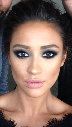 Shay mitchell- This eye makeup rocks and her eyebrows are my absolute fave.