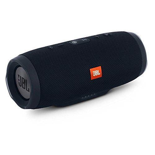 Charge 3 Portable Speaker Bluetooth Black Connect Up To 3 Smartphones or Tablets