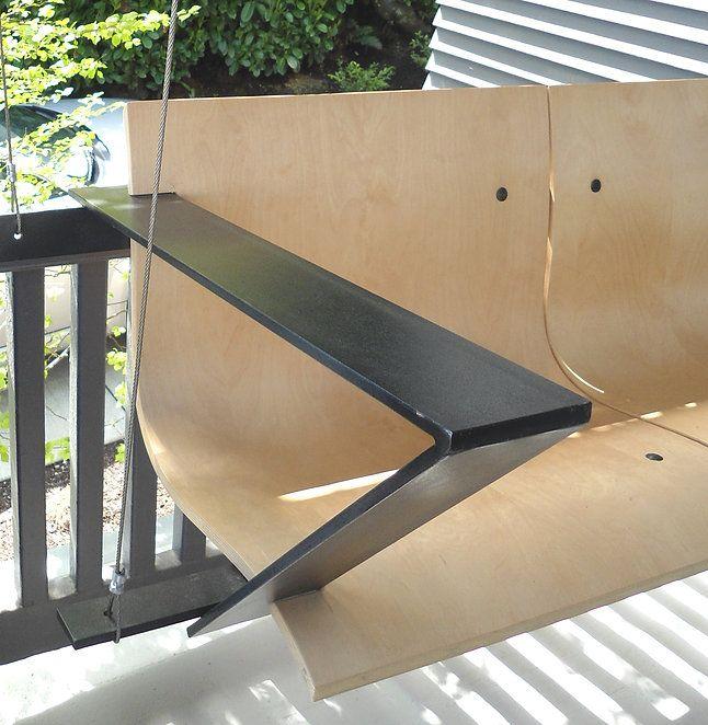 Weld And Glue Furniture Design Modern Porch Swings Porch Swing Furniture Design