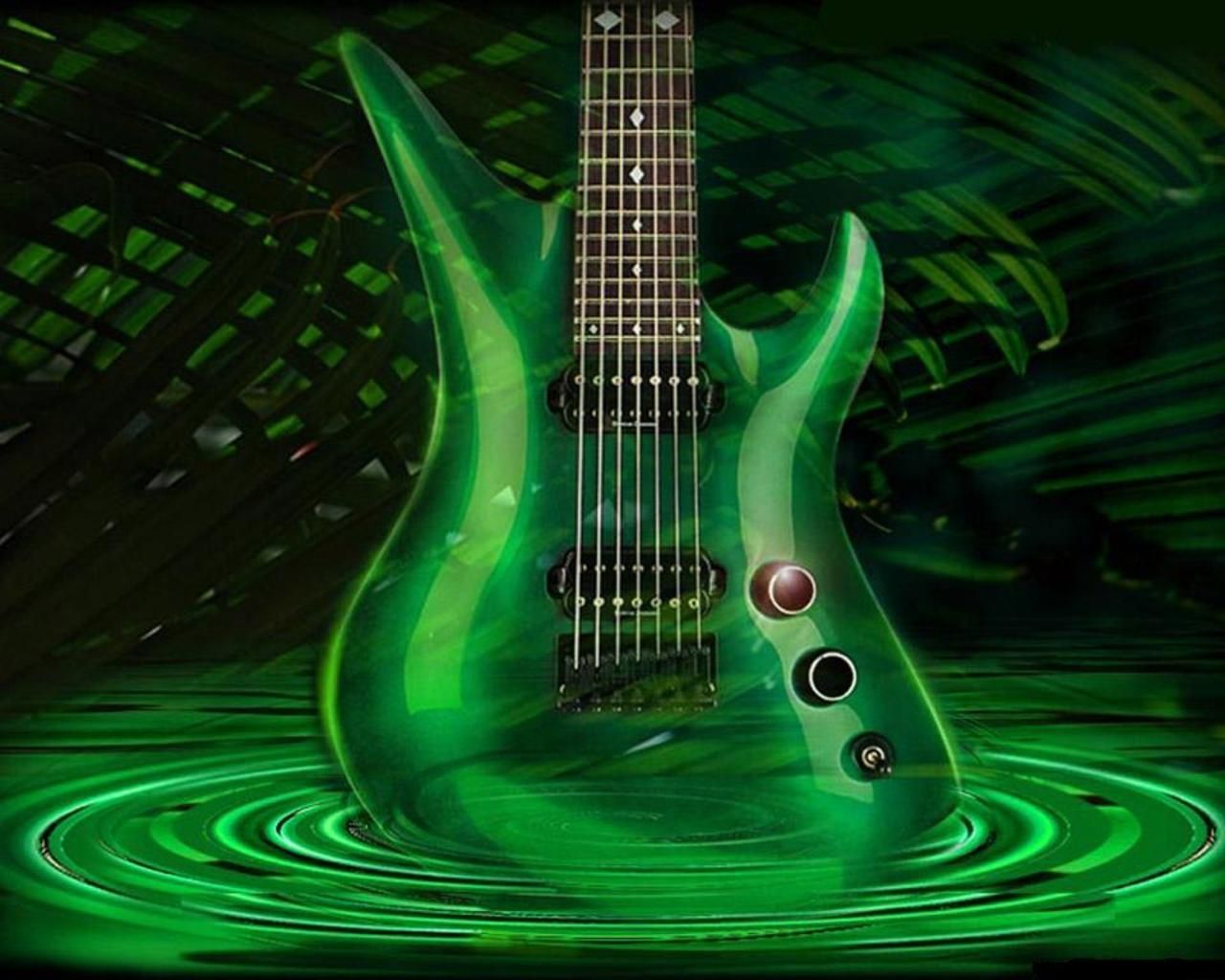 Acoustic Guitar Wallpapers High Definition Desktop Electric Guitar 1280 1024 3d Guitar Wallpapers 49 Wallpapers Ador Electric Guitar Guitar Music Wallpaper