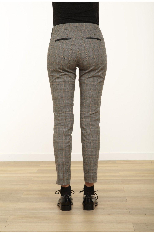pantalon 7 8 motif prince de galles style pinterest. Black Bedroom Furniture Sets. Home Design Ideas