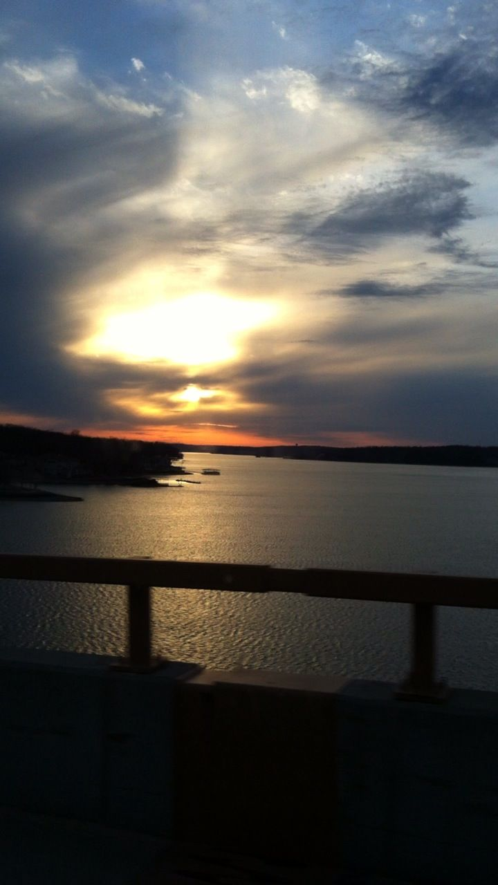 Lake Of The Ozarks I Took This Picture From The Toll Bridge Of