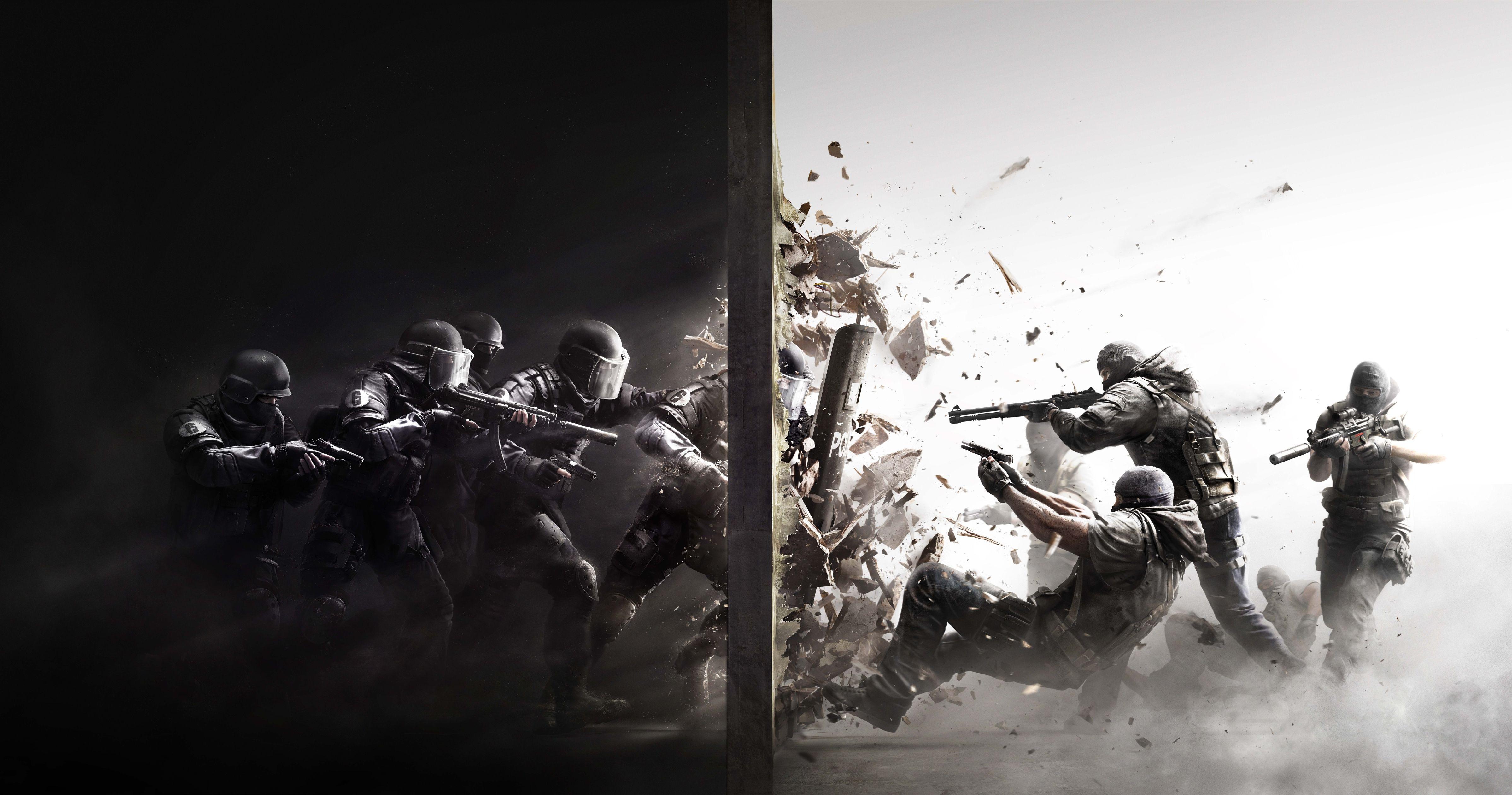 Download Tom Clancys Rainbow Six Siege Pc Game Hd Wallpaper Tom