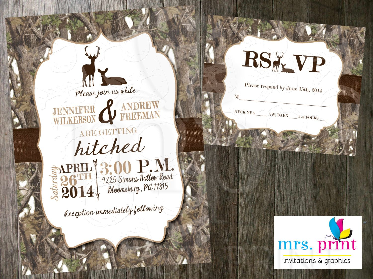 Tips For Choosing Camo Wedding Invitations Templates More Httpwww - Wedding invitation templates: camo wedding invitations templates