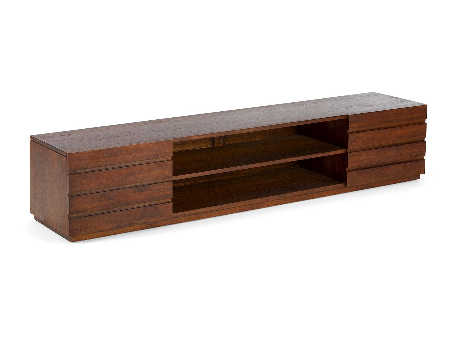 Massivholz Tv Bank Billig Tv Bank Massivholz | Tv Lowboard Holz, Teak, Holz