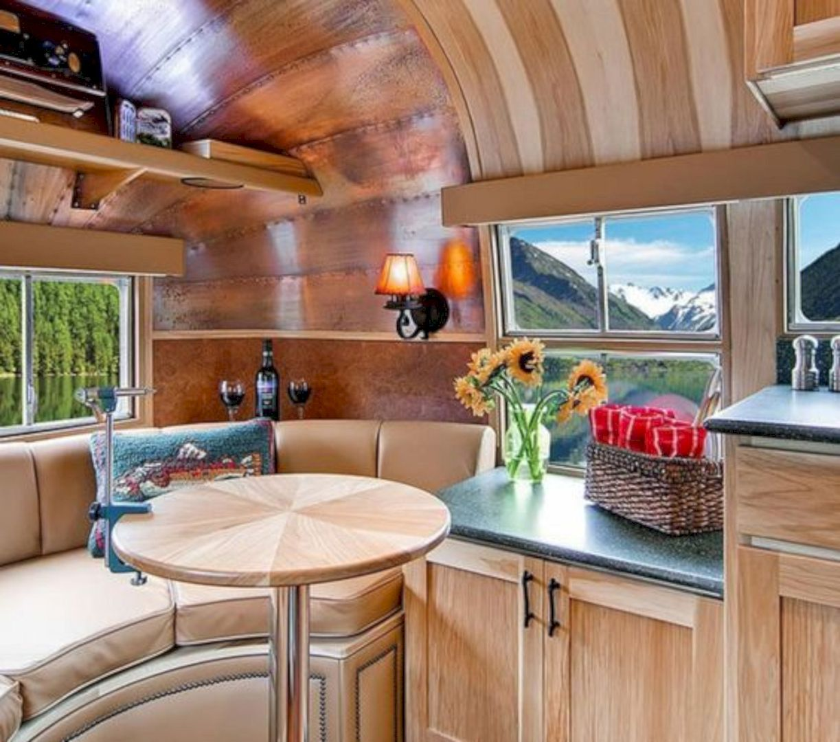 15 Campervan Interior Design Ideas For A Cozy Camping Time Https://www.