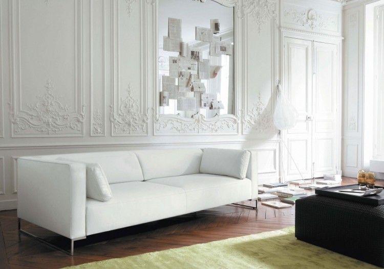 Contemporary Living Rooms Ideas And Inspiration From Ligne Roset Modern White Living Room Stylish Living Room Living Room White