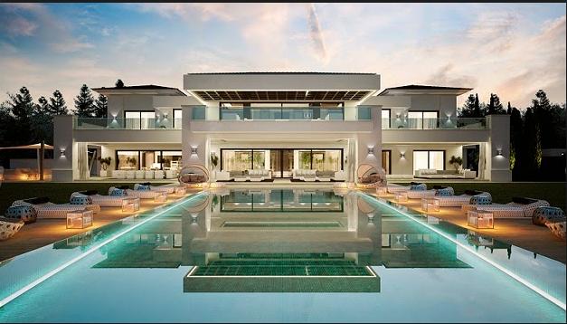Resultado de imagen para mansiones mansions pinterest for Mansiones lujosas modernas