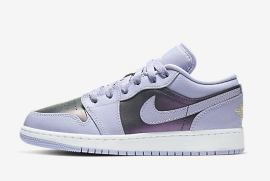 "554723-505 Air Jordan 1 Low GS ""Oxygen Purple"" 2019 Latest ..."