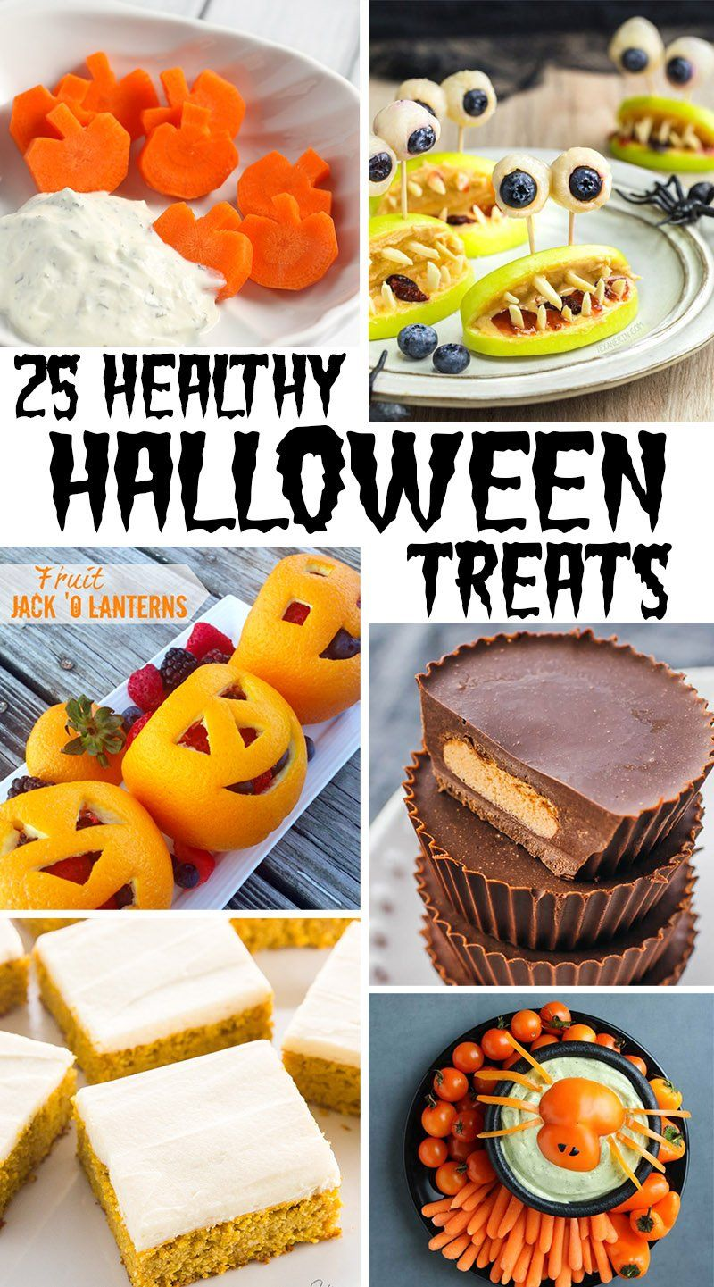 25 Healthy Halloween Treats That Kids Will Flip For | This West Coast Mommy