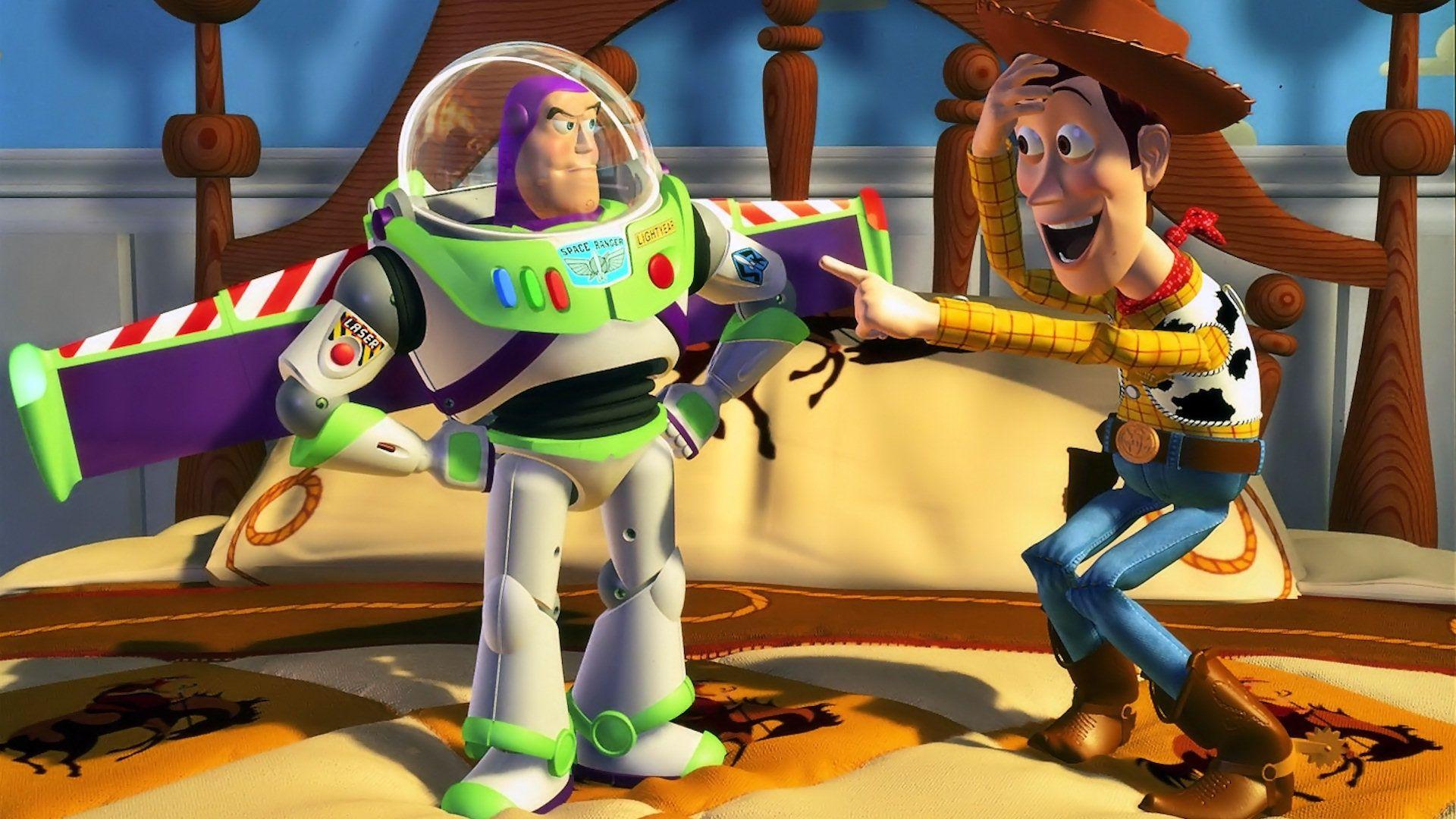 Buzz Lightyear and Woody Disney