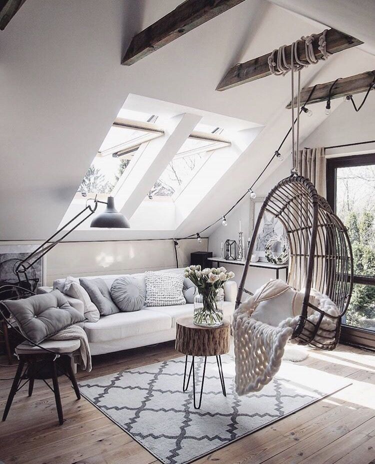 Pin By Mia On Dream Home Minimalism Interior Hanging Swing Chair Bedroom Swing