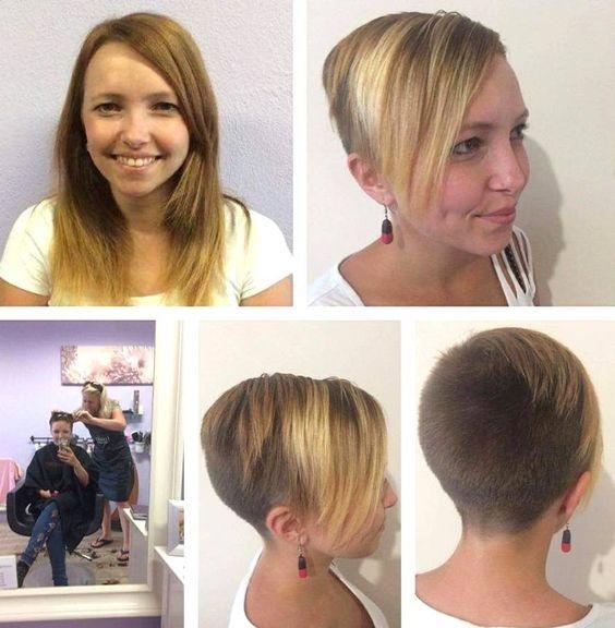 Pin Von Short Hair Auf Makeover Cambios De Look Maquillaje Und Cambio