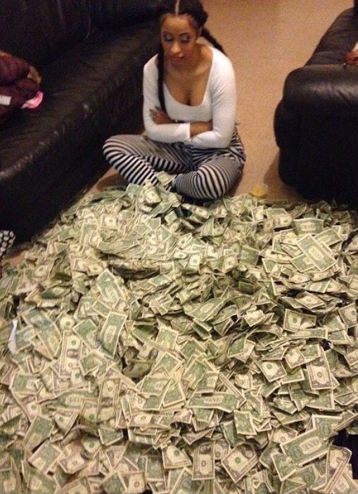 Trap Queen Cardi B Money Cash Money On My Mind