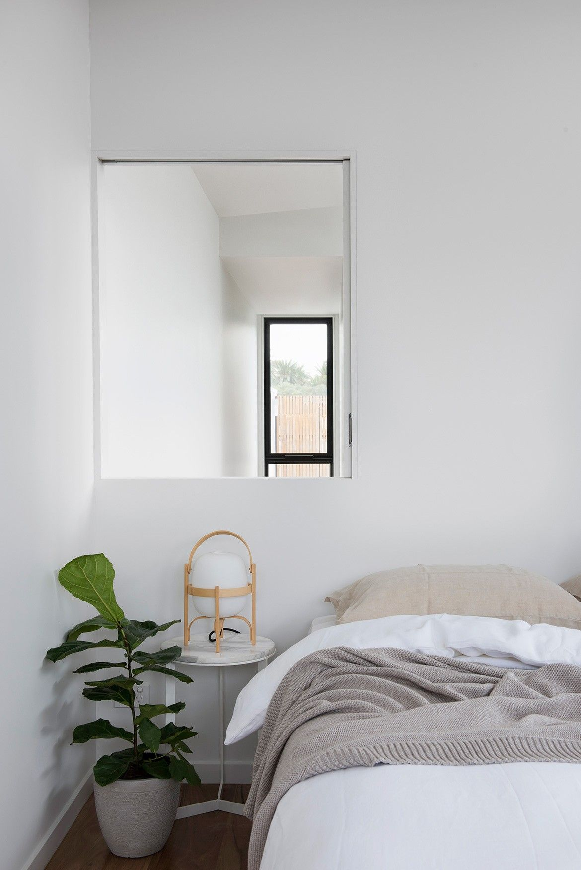 Winter Architecture Photography by Nicole England bedroom