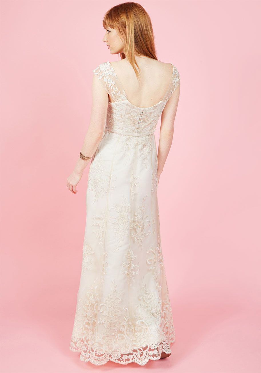 02c1690a52 Eye for the Divine Maxi Dress in Ivory in M