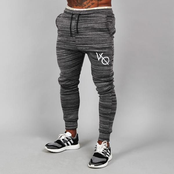 872a89cc8 Vanquish Fitness Flux Tapered Sweatpants in Dark Grey | Fashion ...