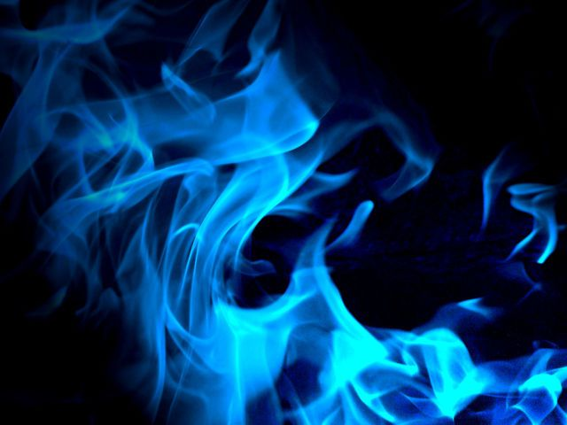 What Color Is Your Inner Fire Smoke Texture Blue Flames Textured Background