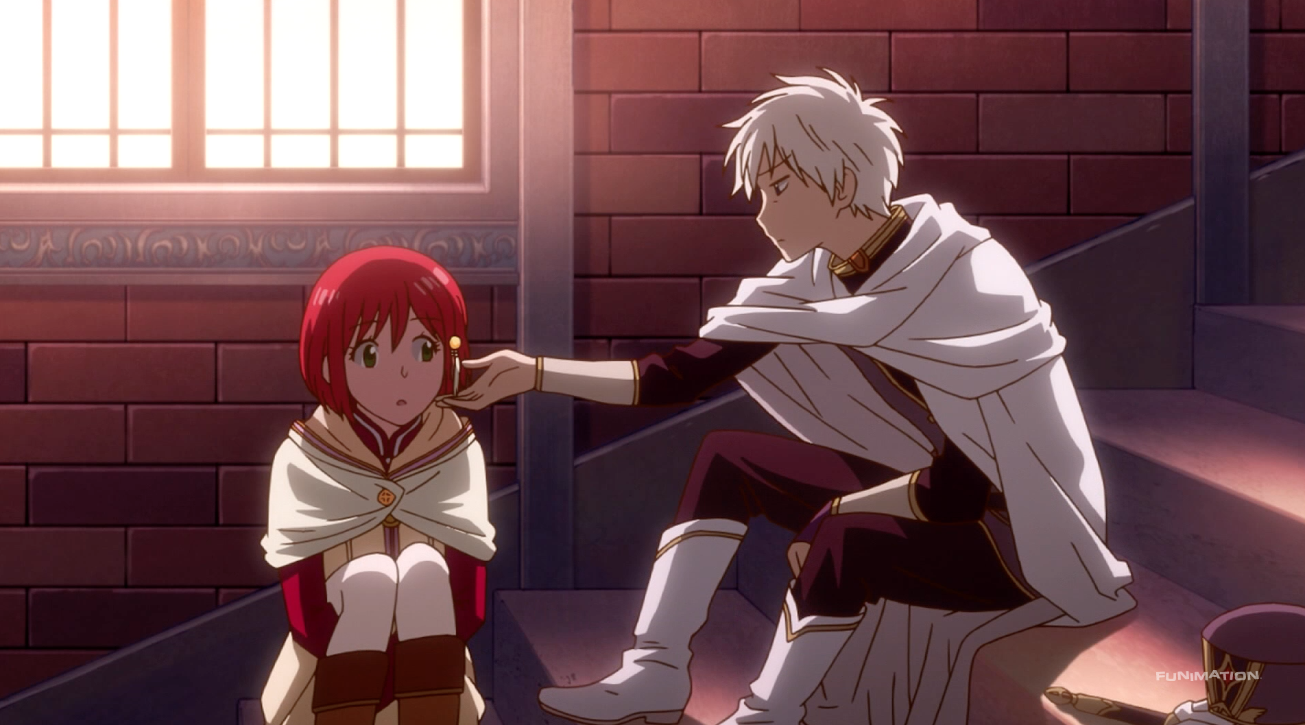 Pin By Queen Tender On Akagami No Shirayuki Hime Snow White With The Red Hair Red Hair Snow White
