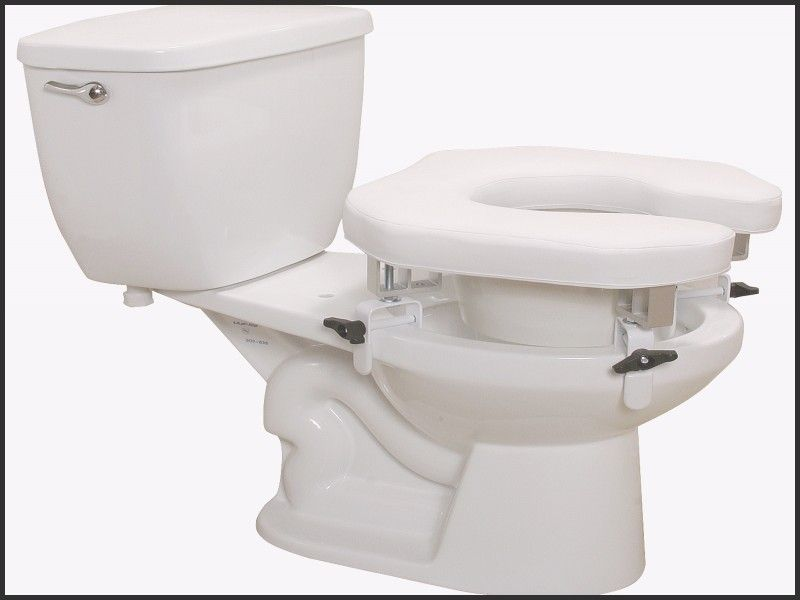 Unique Handicap Toilet Seat Extender