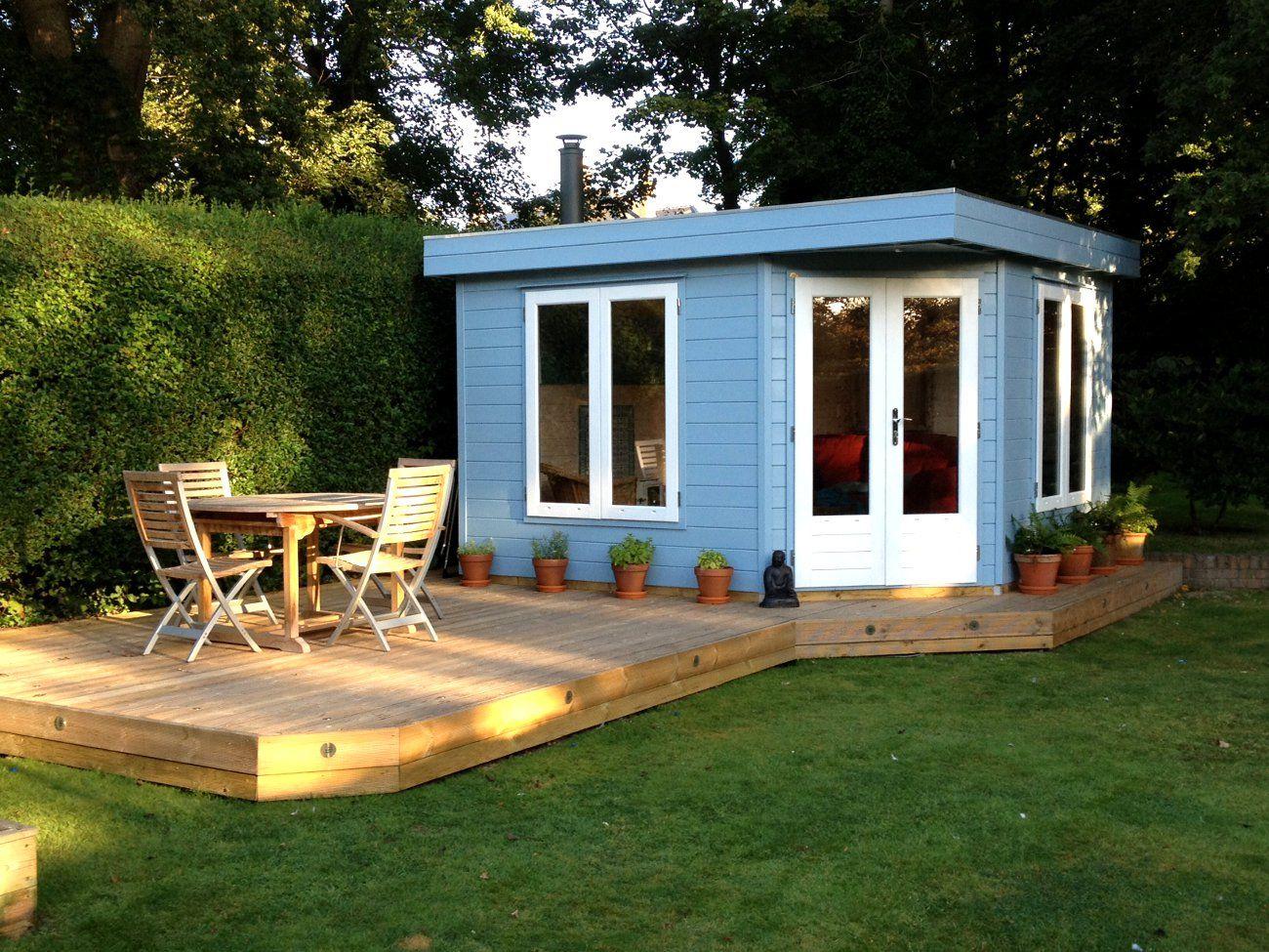 building a garden office. Zingy Garden Office! Building A Office C