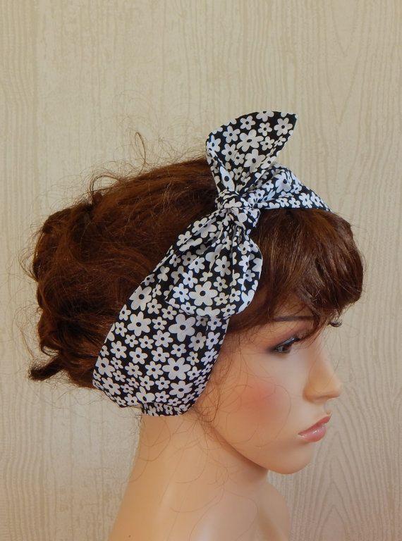 Retro Headbands Summer Headband Vintage Style by verycuteheadbands 23ab8ff44db