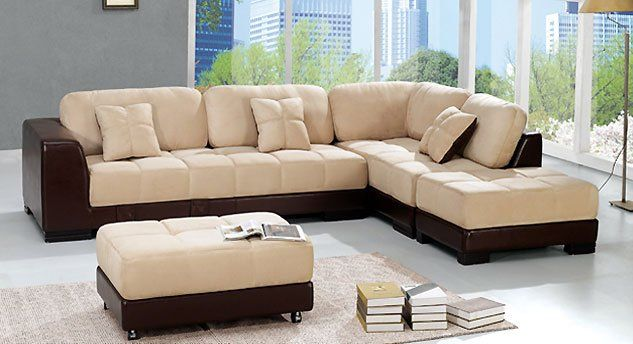 Nova L Shape Sofa Set With Ottoman Sofaset Modern Living Room