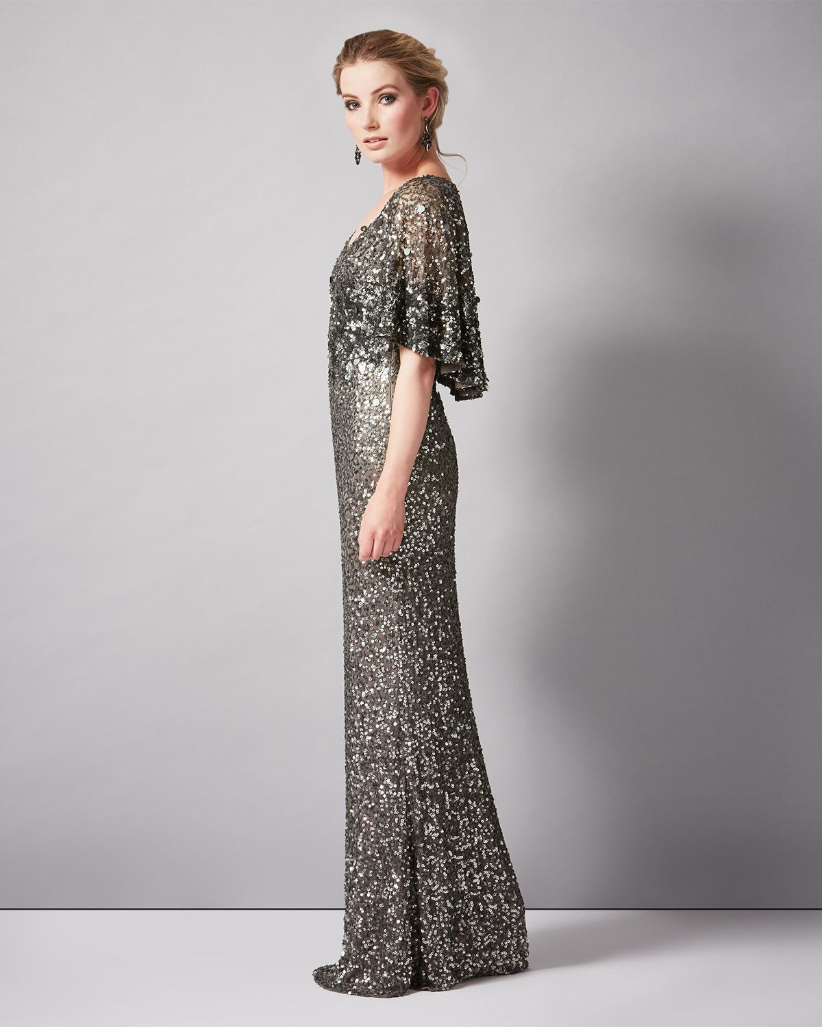 Capella Sequinned Full Length Dress - Phase Eight | 19 dec ...