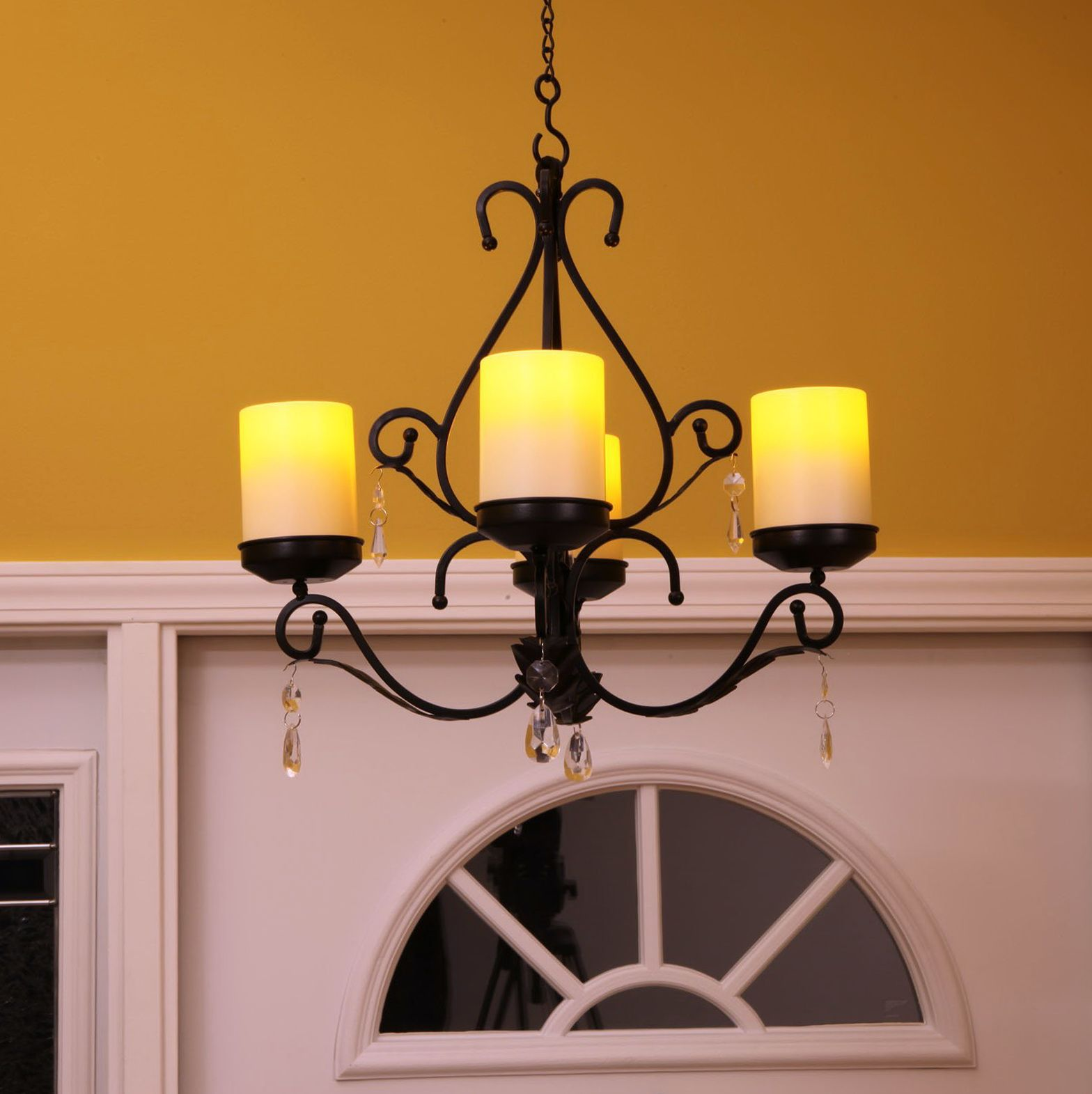 Outdoor Candle Chandelier Non Electric | Outdoor candle ... on Non Electric Wall Sconce Lights id=37985