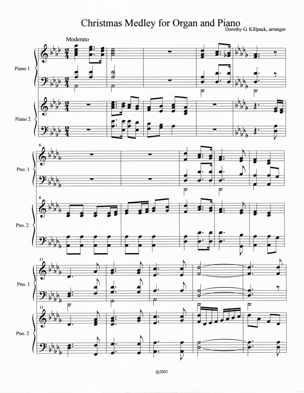 Sheetmusicpicture music pinterest music pictures sheet to the world o little town of bethlehem silent night the first noe by dorothy gregory killpack organorgan accompaniment piano duetpiano ensemble hexwebz Choice Image