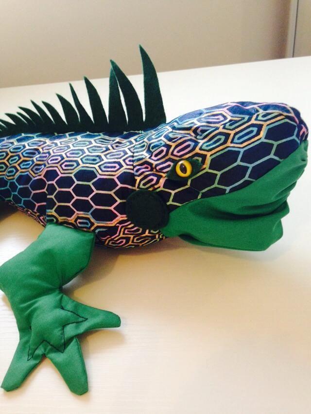 Iguana soft toy (50cm long)