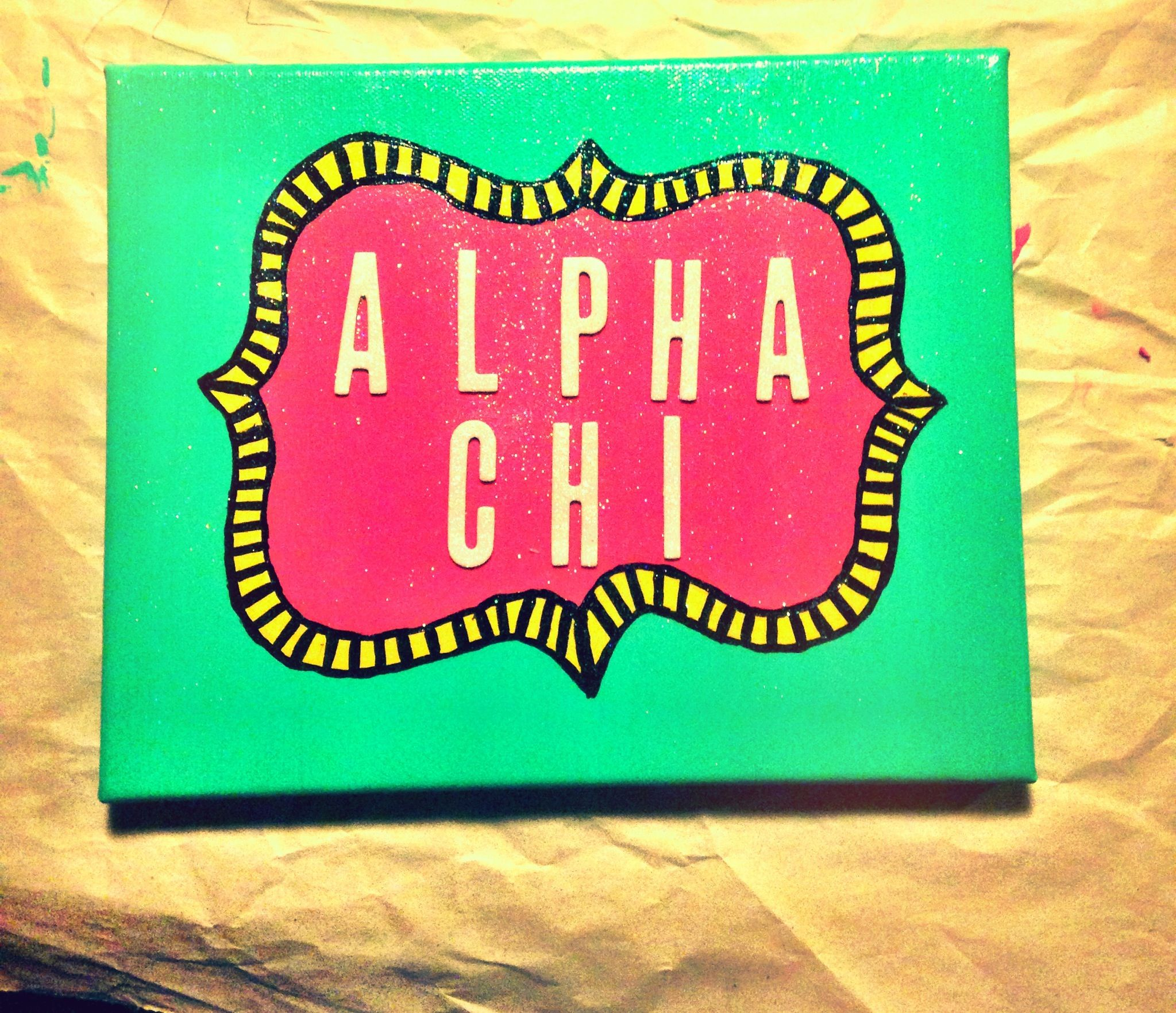 Alpha chi!   Crafts   Pinterest