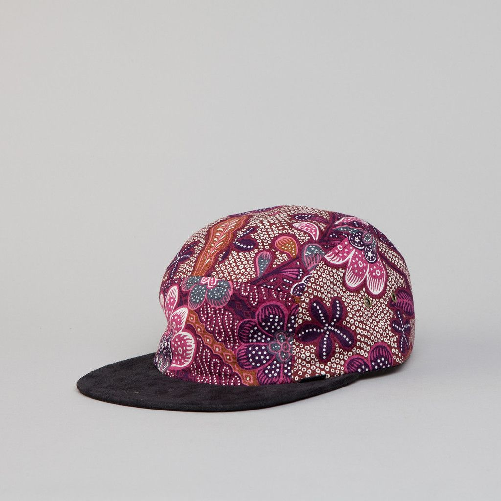 77882694c9f09 The Quiet Life Liberty Rose Bucket Hat - Navy All Over