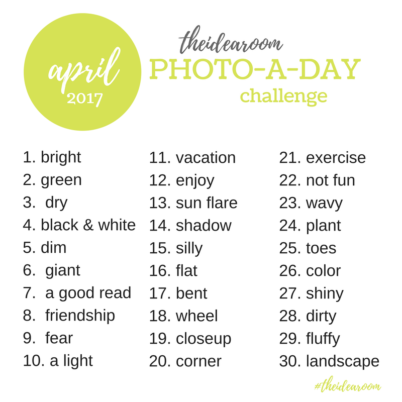 The Idea Room Photo A Day Challenge April