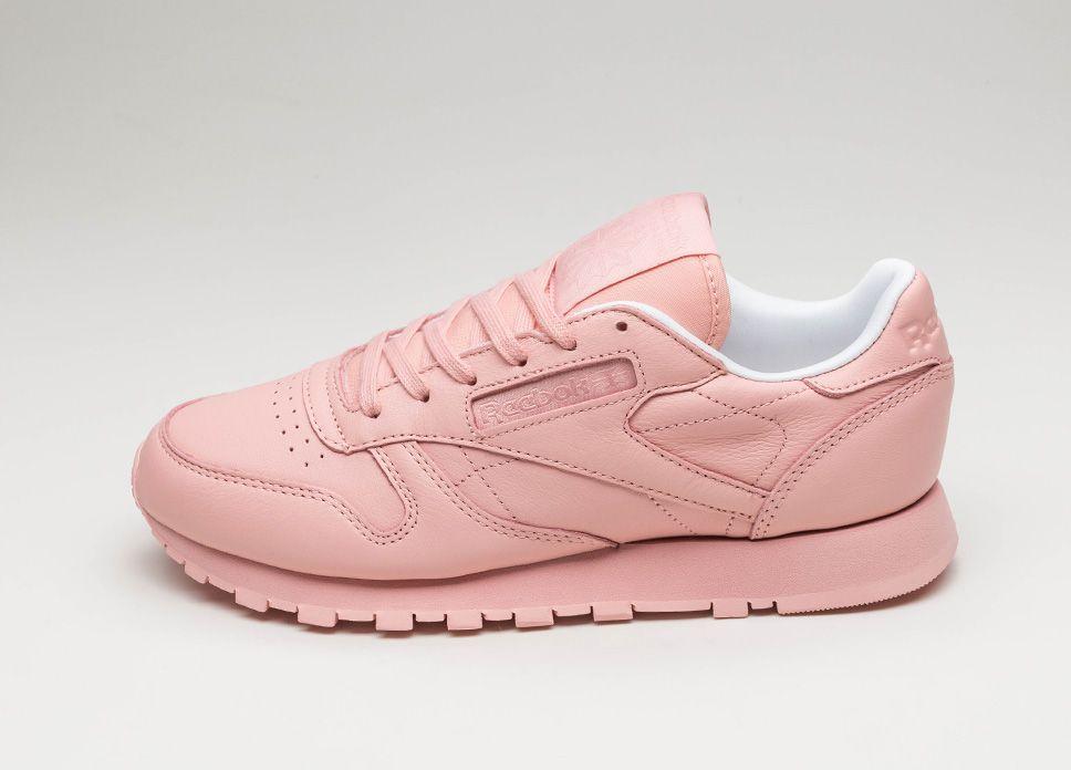 3aa5bdd02701ad Reebok Classic Leather Pastels (Patina Pink   White)  lpu  sneaker  sneakers
