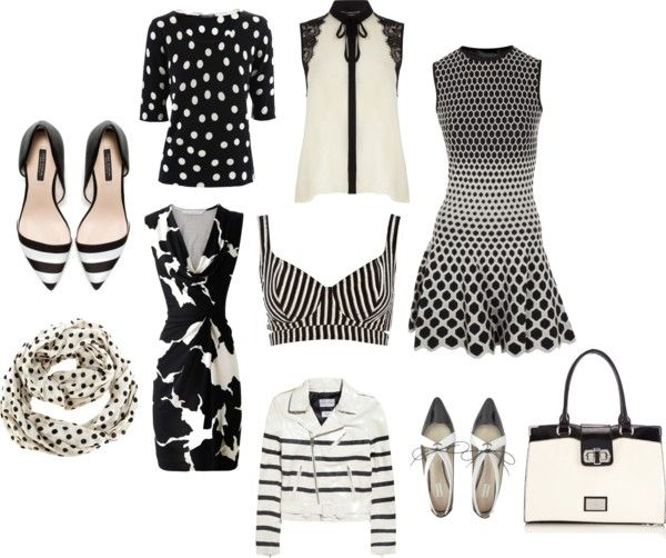 Black and White: always chic. On the blog.