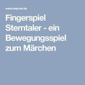 Photo of Fingerspiel Sterntaler – ein Bewegungsspiel zum Märchen