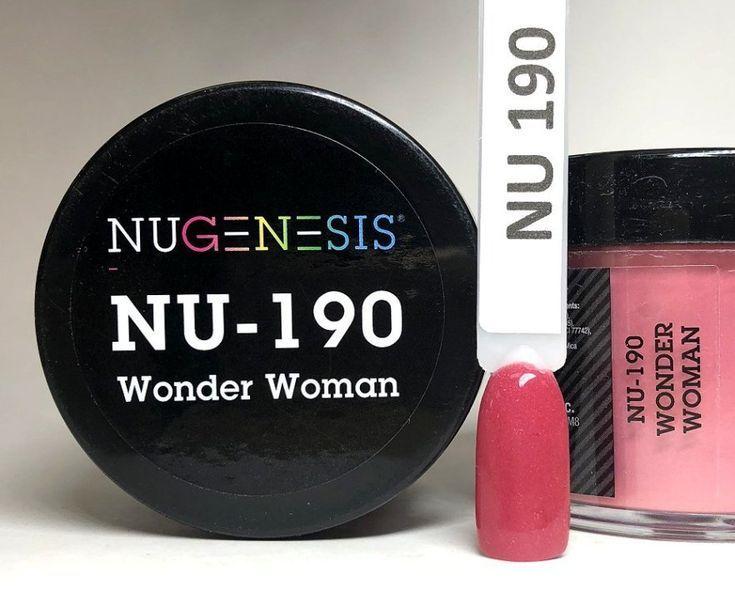 Nugenesis Dipping Powder NU190 – Wonder Woman – Manicure Pedicure Nugenesis Dipping Powder NU190 – Wonder Woman – Manicure Pedicure